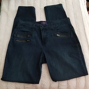 Dark Blue NYDJ Denim Leggings